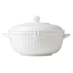 Nantucket Basket Covered Vegetable Bowl by Wedgwood