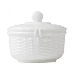 Nantucket Basket Covered Sugar by Wedgwood