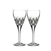 Ardan Enis Set of Two Wine Glasses by Waterford Crystal