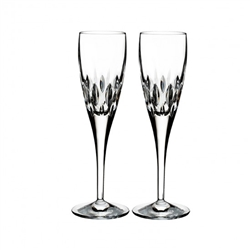 Ardan Enis Set of Two Flutes by Waterford Crystal