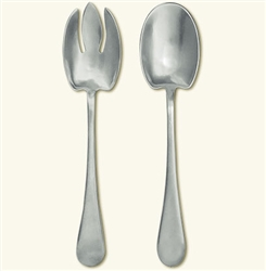 Aria Salad Set by Match Pewter