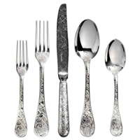 Jardin D'Eden 5-Piece Place Setting by Chirstofle