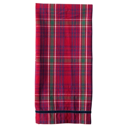 Christmas Tartan Red Tea Towel by Juliska