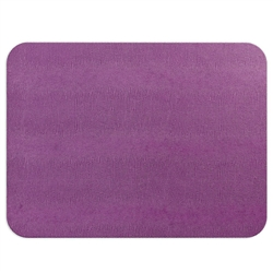 Aubergine Lizard Felt-Backed Placemat by Caspari