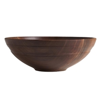 "13"" Willoughby Black Walnut Bowl by Andrew Pearce"