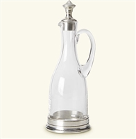 Oil Cruet with Handle by Match Pewter