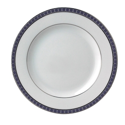Athena Navy Bread & Butter Plate by Bernardaud