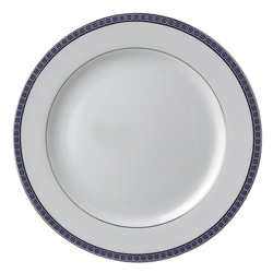 Athena Navy Salad Plate by Bernardaud