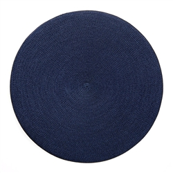"15"" Round Braided Linen Placemats by Deborah Rhodes"