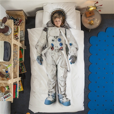 Astronaut Duvet Cover by SNURK