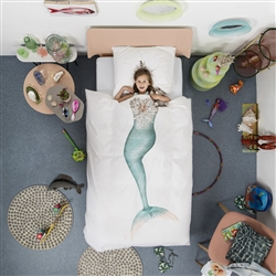 Mermaid Duvet Cover by SNURK