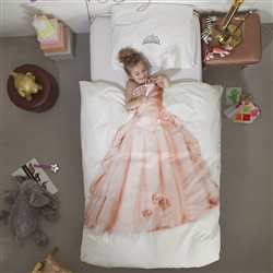 Pink Princess Duvet Cover by SNURK