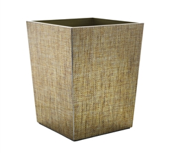 Angkor Waste Basket by Kim Seybert