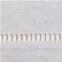 Pure Linen White Hand Towel by Henry Handwork