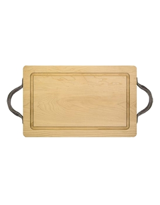 "24"" Rectangle Wood Cutting Board by Maple Leaf at Home"