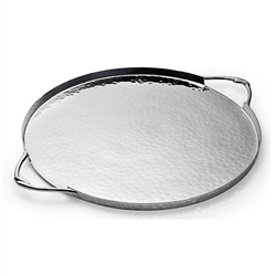 Infinity Round Serve Tray by  Mary Jurek