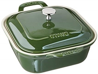 Cast Iron Square Baker - Basil by Staub
