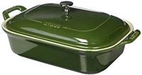 Cast Iron Rectangular Baker - Basil by Staub