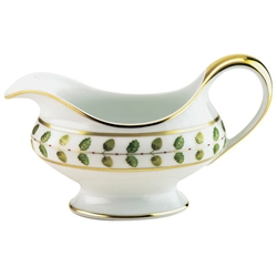 Constance Green Gravy Boat by Bernardaud
