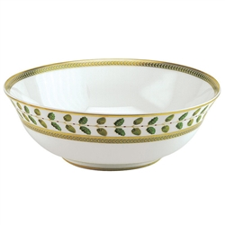 "Constance Green 10"" Salad Bowl by Bernardaud"