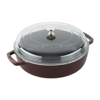 4-qt Universal Deluxe Pan Grenadine by Staub