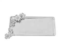 Butterfly Dogwood Oblong Tray by Arthur Court Designs