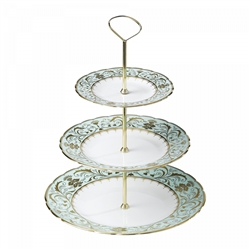 Darley Abbey 3 Tier Cake Stand by Royal Crown Derby