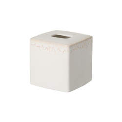 Taormina White Tissue Cover by Casafina