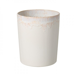 Taormina White Waste Basket by Casafina