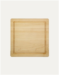 "14"" Square Wood Cutting Board by Maple Leaf at Home"