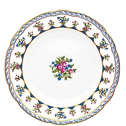 Chateaubriand Blue Bread and Butter Plate by Bernardaud