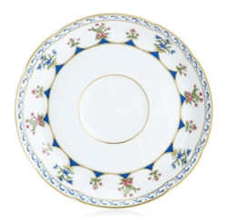 Chateaubriand Blue Coffee Saucer Plate by Bernardaud