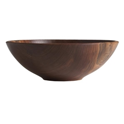 "Champlain 17"" Walnut Bowl by Andrew Pearce"