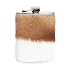 Springbok Hide Hipflask by Ngala Trading Co.