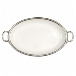 Arte Italica - Tuscan Oval Tray with Handles