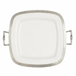 Arte Italica - Tuscan Square Tray with Handles