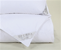 Dover European White Duck Down Comforters by SFERRA