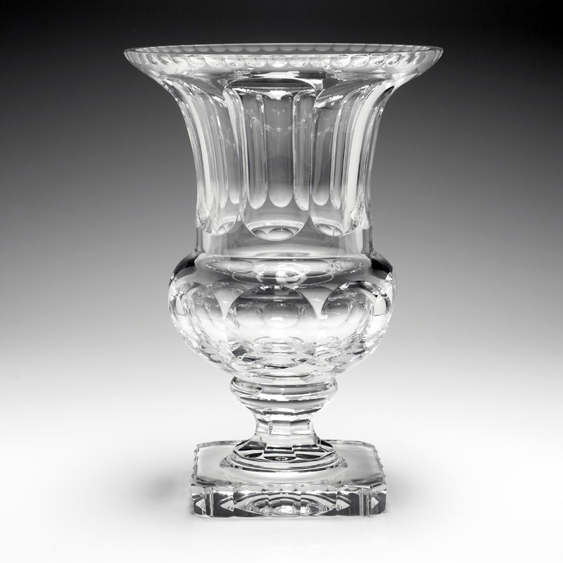 William Yeoward Crystal Faith Urn Vase 12