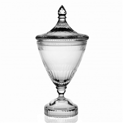 "Allegra Covered Vase (14"") by William Yeoward Crystal"