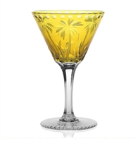 Alexis Cocktail Amber Glass by William Yeoward Crystal