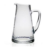 "Calypso Pitcher (2 Pints"") by William Yeoward Crystal"