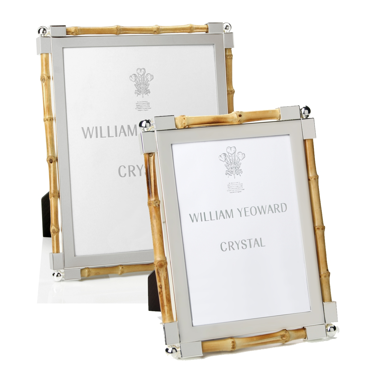 William yeoward crystal classic bamboo frames classic bamboo frames by william yeoward jeuxipadfo Image collections