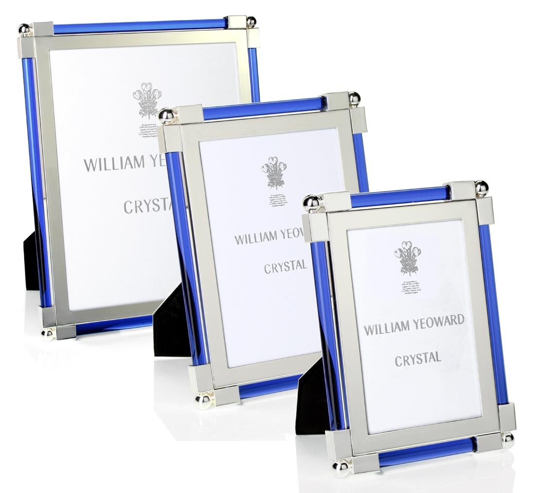 William yeoward crystal classic light blue glass frames classic light blue glass frames by william yeoward jeuxipadfo Gallery