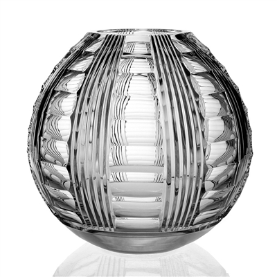 "Adele Spherical Vase (11"") by William Yeoward Crystal"