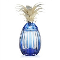 Azzura Pineapple Centrepiece - Limited Edition by William Yeoward Crystal