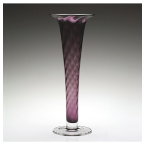 Amethyst Spiral Vase by William Yeoward Country