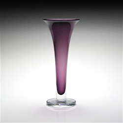 Amethyst Footed Vase by William Yeoward Country