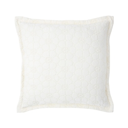 Petales Decorative Pillow by Yves Delorme