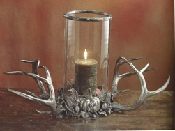 Westport Harvest Center Piece by Cipolla Pewter