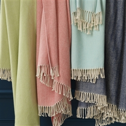 Celine Fringed Throw by SFERRA